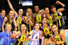 Kupa Voley şampiyomu Fenerbahçe