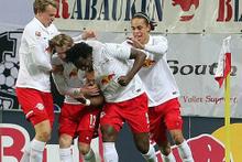 Red Bull Leipzig Frankfurt'a acımadı