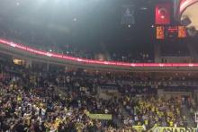 Fenerbahçe Ülker Arena'da İzmir marşı