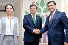 AK Parti- HDP koalisyon görüşmesinden özel kareler