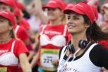 40 bin kadın meme kanseri için koştu