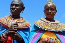 Kenya'da mağdur kadınların köyü