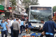 Ankara'daki feci kazadan kareler!
