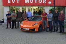 Yüzde yüz yerli otomobil EVT S1 tanıtıldı