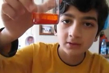 Minik bilim insanı evde biber gazı üretti
