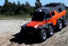 8x8 engel tanımayan araç!