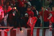 Bir grup Rus faşist, Türk bayrağı yaktı