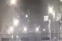Sur'da polise roketli saldırı böyle görüntülendi