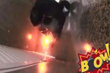 Tuvalette bomba şakası