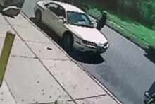 Trafik canavarı yaşlı adamı biçti! Dehşet anlar kamerada