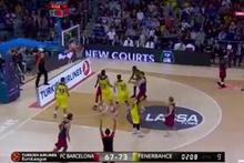 Fenerbahçe Barcelona'ya ortada sıçan oynattı