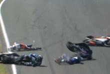 Avustralya GP'sinde büyük kaza