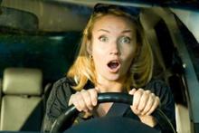 Kadın sürücüler çok daha sinirli