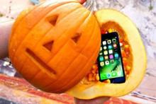 iPhone 7 bal kabağı içerisinde fırlatılırsa!