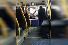 Adana'da dolmuş şoförünü delirten yolcu