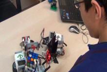 Bu robot insan aklı ile yarışıyor!