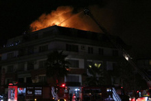 Florya'da yangın! Galatasaraylı yıldız ve...