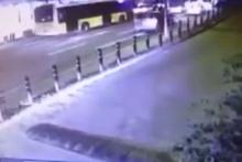 Beşiktaş'taki patlama anı güvenlik kamerasında