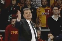 Galatasaray Anadolu Efes maçında olay
