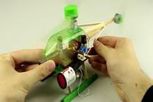 Basit malzemelerle helikopter nasıl yapılır?