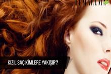 Kızıl saç kimlere yakışır?