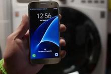 Galaxy S7'yi çamaşır makinesinde yıkadılar