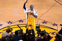Kobe Bryant basketbola veda etti