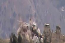 Taliban, Afganistan helikopterini havaya uçurdu