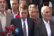 Türk-İş heyeti Taksim'de
