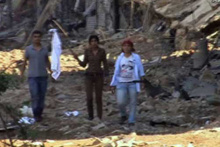 Nusaybin'de 25 PKK'lı teröristin teslim olma anı