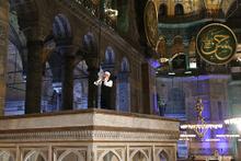 Kadir Gecesi Ayasofya'da ezan okundu