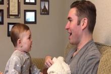 Minik bebeğin hayal kırıklığı