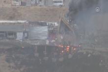 Cizrede emniyete müdürlüğüne bombalı saldırı! İlk görüntüler