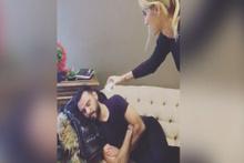 Çağla Şıkel'in şakası sosyal medyayı salladı
