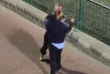 İspanya'da futbolcu babaları birbirine saldırdı