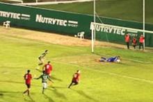 Penaltıda öne doğru adım atınca...
