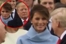 Bu bakışma olay oldu! 'First lady Trump'tan nefret ediyor'