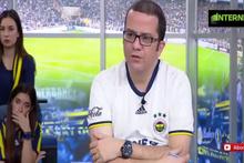 Fenerbahçe gol yeyince... FB TV'de bakın neler oldu