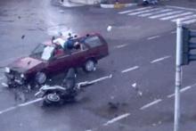 Feci trafik kazaları kamerada