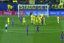 Messi 90. dakikada frikikten tam 90'a attı
