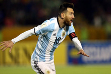 Messi Arjantin'i Dünya Kupası'na taşıdı