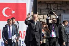 Erdoğan, Sırbistan'da konuştu: FETÖ yuhalandı!