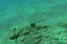 Dünyaca ünlü sahilde Osmanlı dönemine ait 5 top bulundu