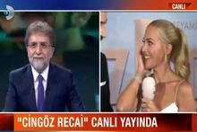 Ahmet Hakan ve Meryem Uzerli'nin komik canlı bağlantısı