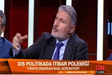 CNN Türk canlı yayınında Ortadoğulu ve korkak kavgası