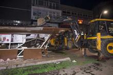 Bakırköy'de yıkım sırasında gerginlik