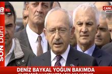 Kılıçdaroğlu, Baykal'ın son durumunu anlattı