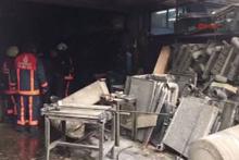 İkitelli'de mazot tankeri deposunda patlama oldu