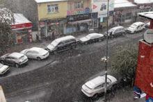 Ardahan'da lapa lapa kar yağıyor! Şaşırtan görüntüler