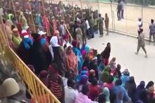 Somali'de stadyumu 'Recep Tayyip Erdoğan' sloganıyla inlettiler